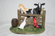 "Farm Life by Regency ""Meeting at the Gate""Farm Animals 49130"